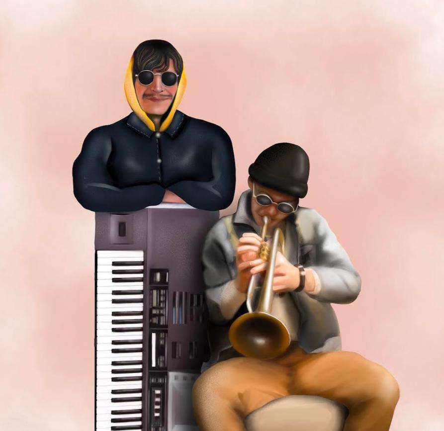"""cover de """"Trumpet Call"""", le nouveau titre de Bellaire"""