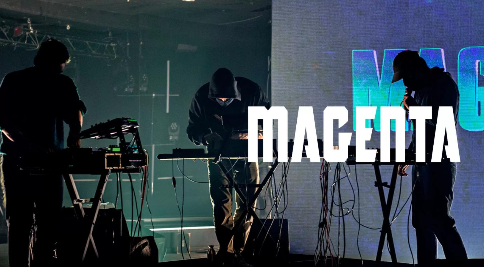 Magenta pour leur live chez Arte, en interview