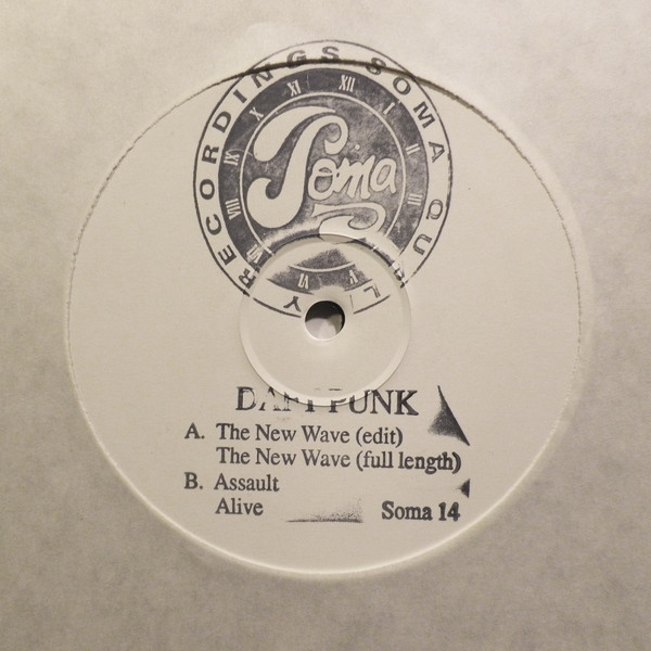Daft Punk The New Wave test pressing