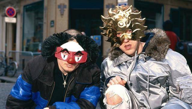 Daft Punk masked