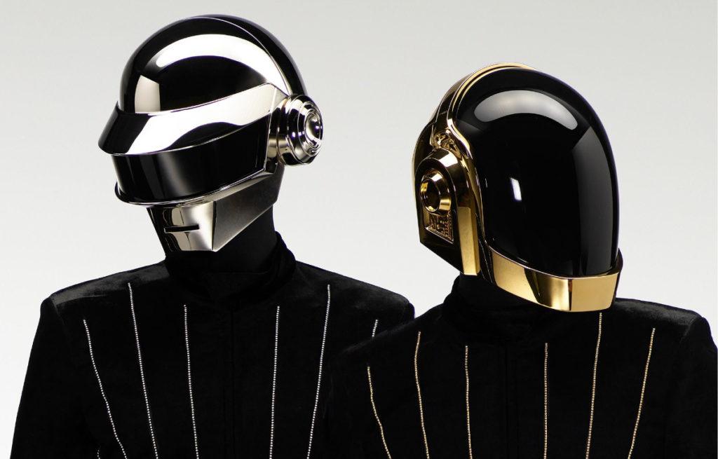 portrait Daft Punk