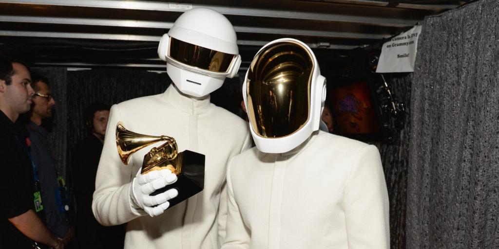 Daft Punk aux Grammy Awards 2014