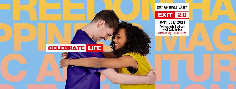 Exit Festival en Serbie nous invite à célébrer la vie en 2021 !
