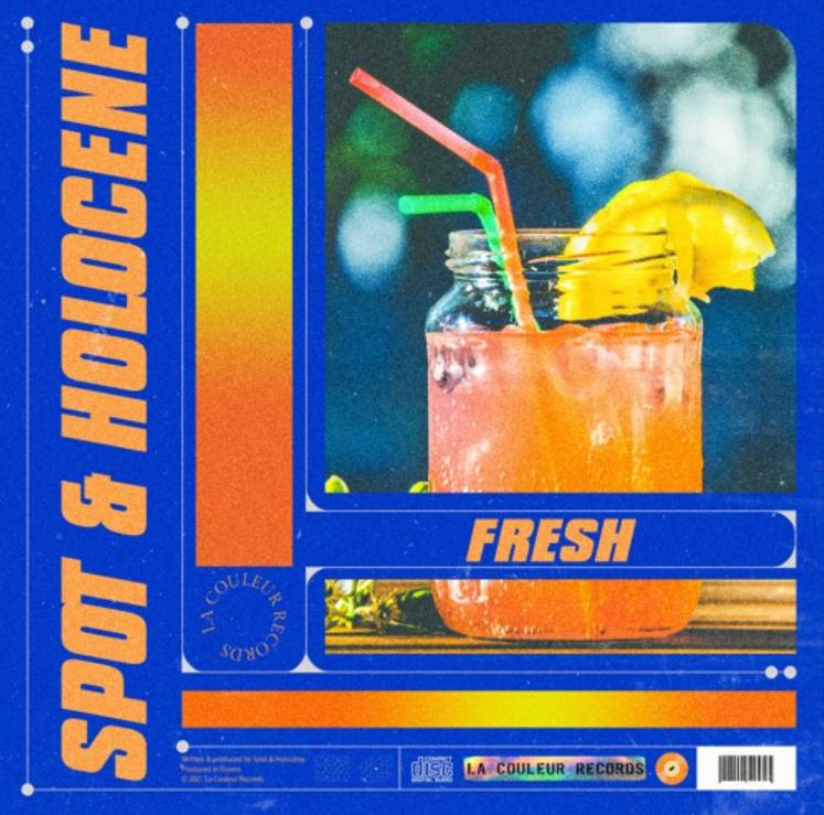 """cover de """"Fresh"""" la collab entre SPOT et Holocène"""