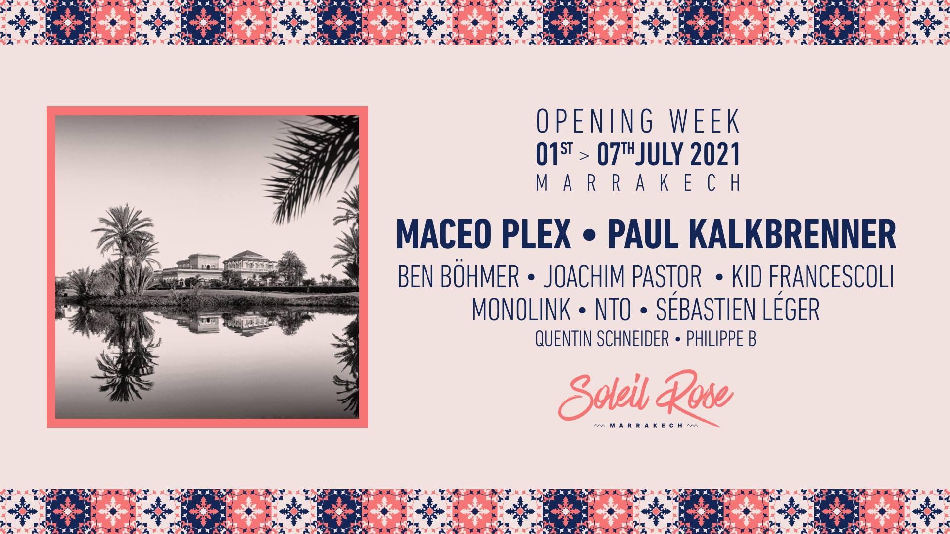 opening week soleil rose