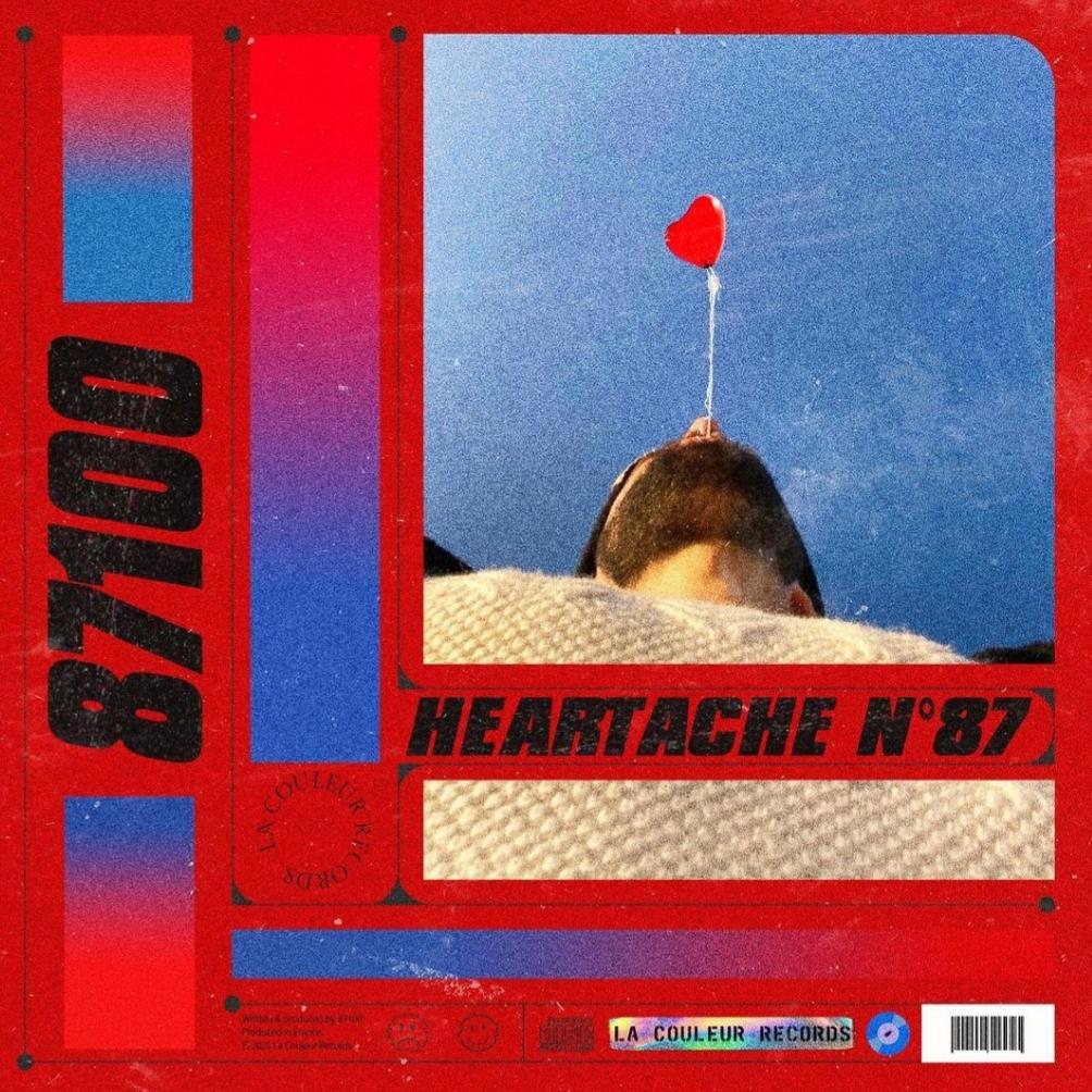 """Cover du son """"Heartache """" de 87100 sur La Couleur"""