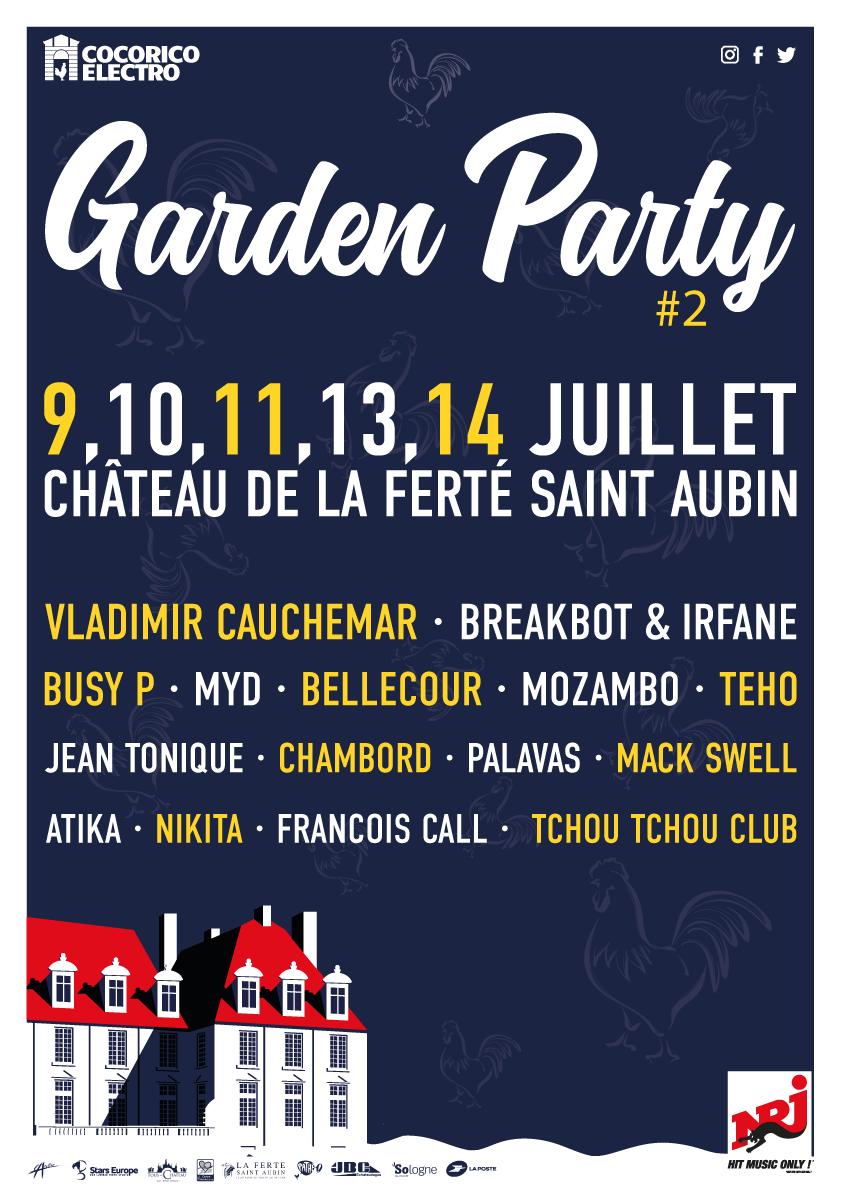 Cocorico Electro Garden Party