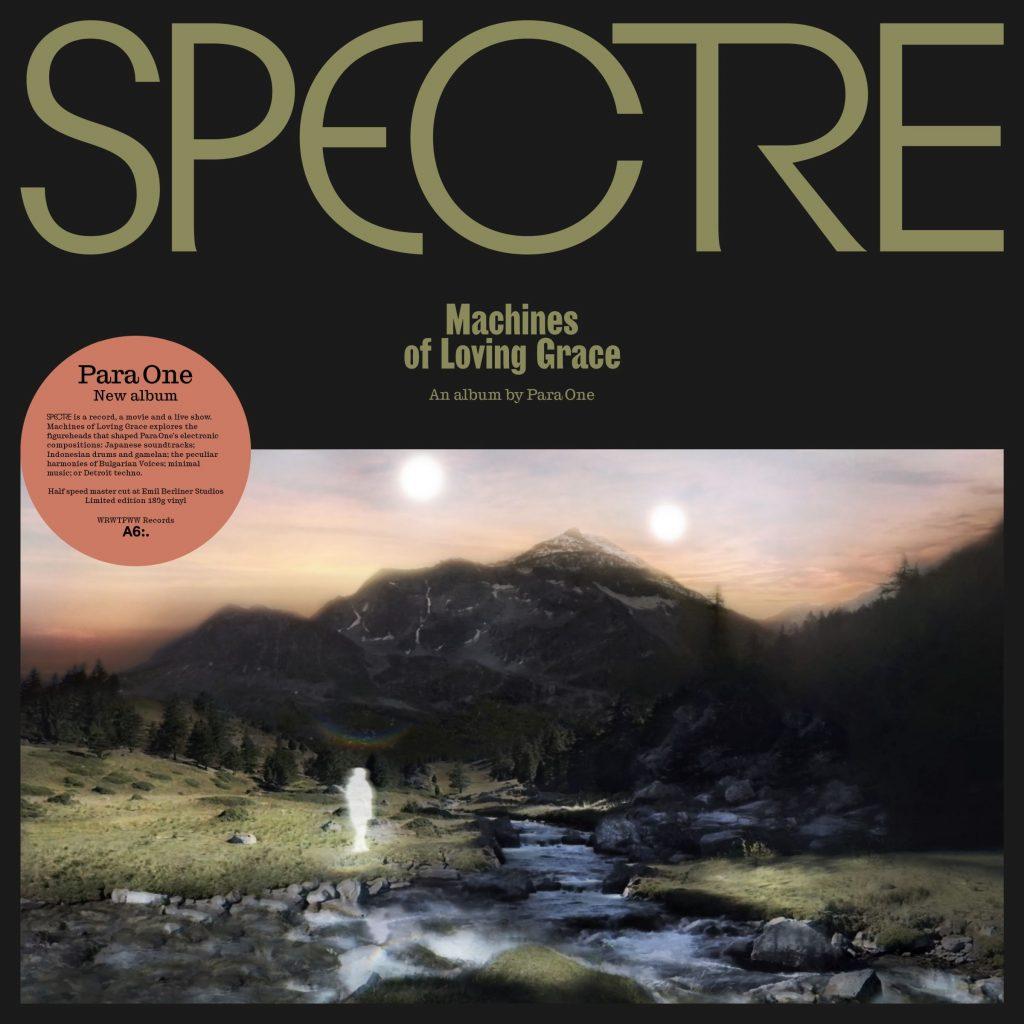 Pochette premier album Para One
